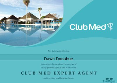 certificate_clubMed