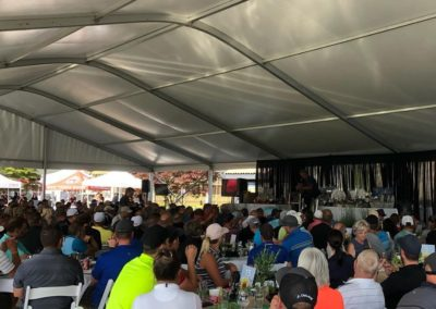tent auction
